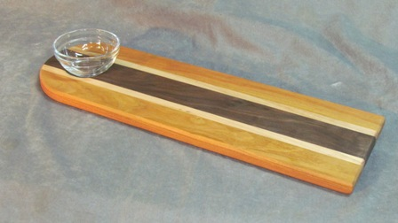 Cherry Bread Dipping Tray