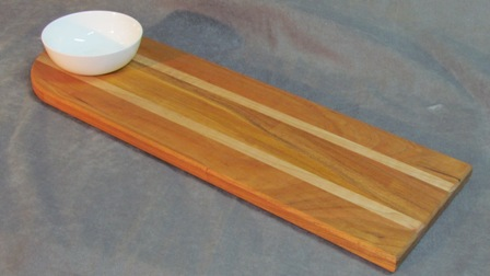 Cherry Maple Bread Dipping Tray