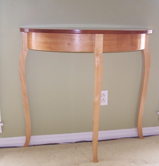 Leopard Wood Table