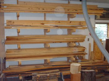 Lumber Storage Rack Plans for Wood Shops